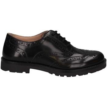 Schuhe Kinder Derby-Schuhe Florens Z8220V PELLE NERO French shoes Kind schwarz schwarz