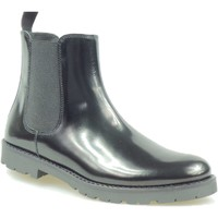 Schuhe Kinder Boots Florens Z810716V PELLE NERO Stiefel Kind schwarz schwarz