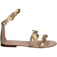 Schuhe Mädchen Sandalen / Sandaletten Florens Z160733D ORO Gold