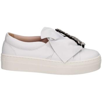 Schuhe Mädchen Slip on Florens Z145829B BIANCO Slip On Kind weiß weiß