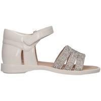 Schuhe Mädchen Sandalen / Sandaletten Florens W808112B BIANCO Sandalen Kind weiß weiß
