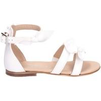 Schuhe Mädchen Sandalen / Sandaletten Florens W060733B BIANCO weiß