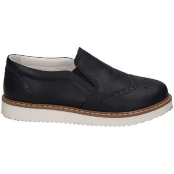 Schuhe Kinder Slip on Florens V411252S PELLE BLU Slip On Kind blau blau
