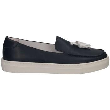 Schuhe Kinder Slipper Florens V2331 BLU Halbschuhe Kind blau blau