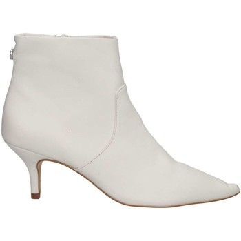 Schuhe Damen Low Boots Steve Madden SMSROME-WHT Stiefeletten Frau weiß weiß