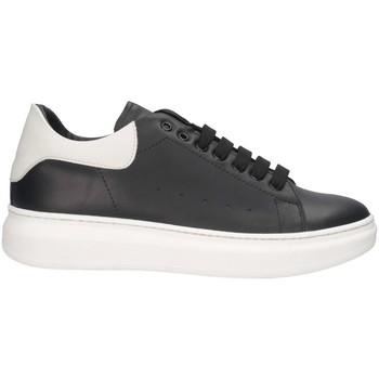 Schuhe Herren Sneaker Low Made In Italia REY 1 NERO/BIANCO Sneaker Mann Schwarz / Weiß Schwarz / Weiß