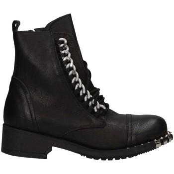 Schuhe Damen Klassische Stiefel Metisse MT141 NERO Stiefel Frau schwarz schwarz