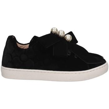 Schuhe Mädchen Sneaker Low Florens F668142V NERO Sneaker Kind schwarz schwarz