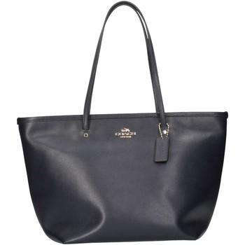 Taschen Damen Shopper / Einkaufstasche Coach F34103 IMMD Shopping Frau blau blau