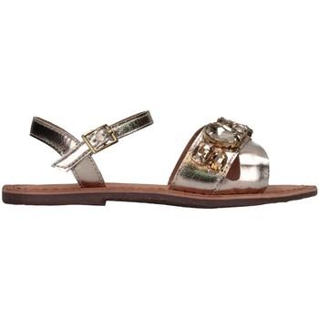 Schuhe Mädchen Sandalen / Sandaletten Florens F19011-5 GOLD Gold