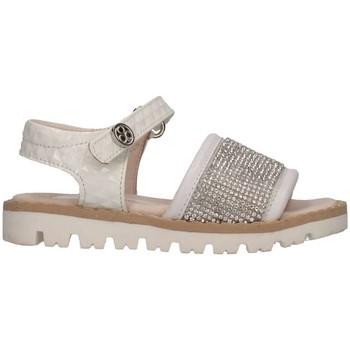 Schuhe Mädchen Sandalen / Sandaletten Florens E0771 BIANCO Sandalen Kind weiß weiß