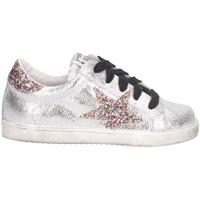 Schuhe Mädchen Sneaker Low Meline CW 6 B Sneaker Kind Silber Silber