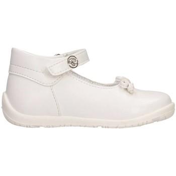 Schuhe Mädchen Ballerinas Blumarine C401111B NAPPA BIANC Ballet Pumps Kind weiß weiß