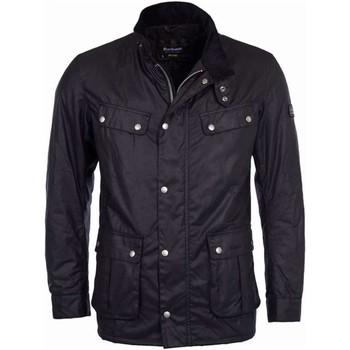 Kleidung Herren Jacken Barbour BACPS1677 BK91 Mantel Mann schwarz schwarz