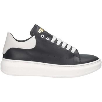 Schuhe Herren Sneaker Low Made In Italia ALEX BLU/BIANCO Sneaker Mann Blau / Weiß Blau / Weiß