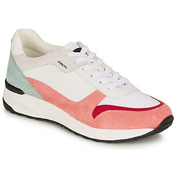 Schuhe Damen Sandalen / Sandaletten Geox AIRELL Weiss