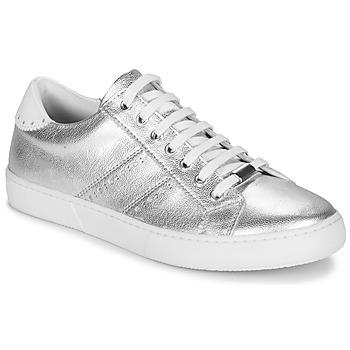 Schuhe Damen Sneaker Low André BERKELEY Silbern