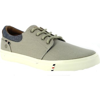 Schuhe Herren Sneaker Low Wrangler Icon City Canvs Grigie Grau