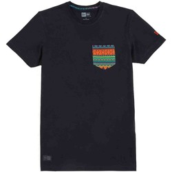 Kleidung Herren T-Shirts New Era Native Pocket Tee T-Shirt Nera Schwarz