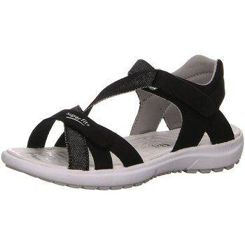 Schuhe Mädchen Sandalen / Sandaletten Superfit Schuhe 4-09203-00 schwarz