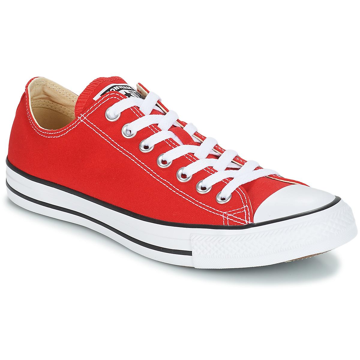 Converse CHUCK TAYLOR ALL STAR CORE OX Rot - Kostenloser Versand bei Spartoode ! - Schuhe Sneaker Low  51,99 €