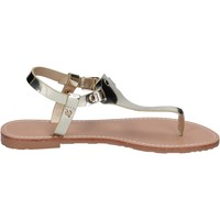 Schuhe Damen Sandalen / Sandaletten Francescomilano sandalen kunstleder platin