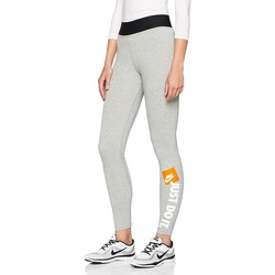 Kleidung Damen Leggings Nike Leggings Grigi Grau