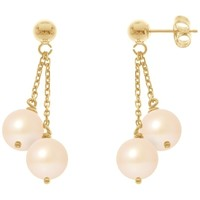 Uhren & Schmuck Damen Ohrringe Blue Pearls BPS K394 W Multicolor