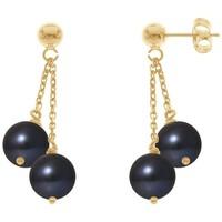 Uhren & Schmuck Damen Ohrringe Blue Pearls BPS K393 W Multicolor