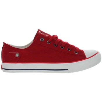Schuhe Damen Sneaker Low Big Star DD274339 Rot