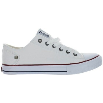 Schuhe Herren Sneaker Low Big Star DD174271 Weiss