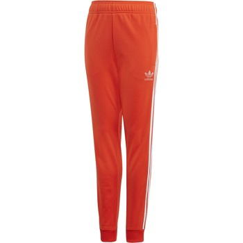 Kleidung Jungen Jogginghosen adidas Originals SUPERSTAR PANTALONE ARANCIONE Orange