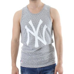 Kleidung Herren Tops New Era MLB New York Yankees Canotta Grigia Grau