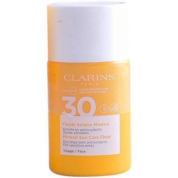 Beauty Damen Sonnenschutz & Sonnenpflege Clarins Solaire Fluide Minéral