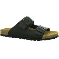 Schuhe Herren Pantoffel Longo Offene 1005337 1005337 schwarz