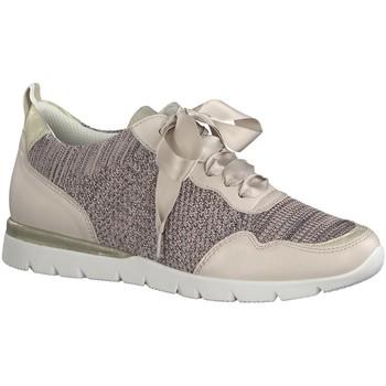 Schuhe Damen Sneaker Low Jana Schnuerschuhe Da.-Schnürer 8-8-23615-22-502 rosa