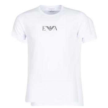 Kleidung Herren T-Shirts Emporio Armani CC715-111267-04712 Weiss