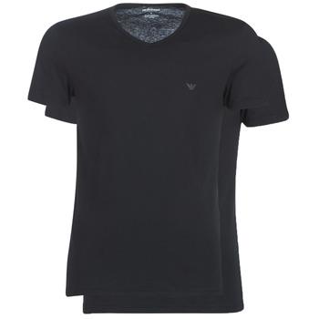 Kleidung Herren T-Shirts Emporio Armani CC722-111648-07320 Schwarz