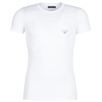 Kleidung Herren T-Shirts Emporio Armani CC716-111035-00010 Weiss
