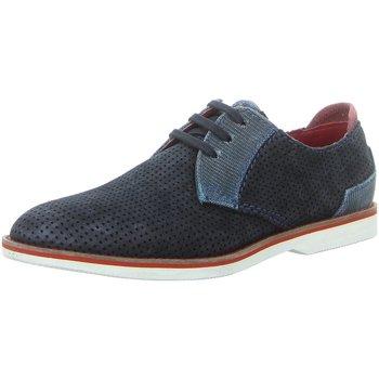 Schuhe Herren Derby-Schuhe Bugatti Schnuerschuhe 67101 311-67101-1469-4142 blau
