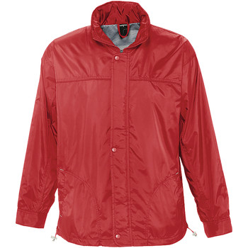 Kleidung Windjacken Sols MISTRAL HIDRO SWEATER Rojo