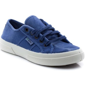 Schuhe Damen Sneaker Low Natural World 901-E blau