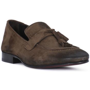 Schuhe Herren Slipper Pawelk's OLD CACAO Marrone