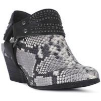 Schuhe Damen Ankle Boots Juice Shoes PITONE ROCCIA Bianco
