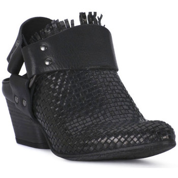 Schuhe Damen Ankle Boots Juice Shoes INTRECCIATO NERO Nero