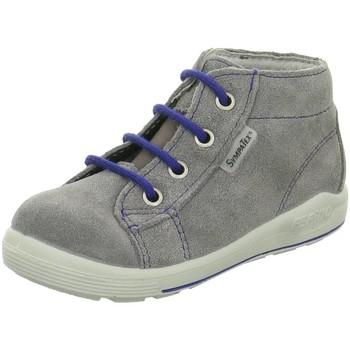 Schuhe Jungen Babyschuhe Ricosta Schnuerschuhe 2421300-463-Zayni grau