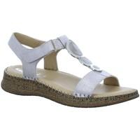 Schuhe Damen Sandalen / Sandaletten Jenny By Ara Sandaletten Casablanca Sandalette 22-17916-05 silber