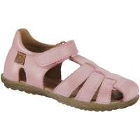 Schuhe Mädchen Sandalen / Sandaletten Naturino Maedchen SEE 0M02-001-1500724-01 rosa Nappa 0M02-001-1500724-01 rot