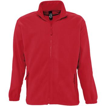 Kleidung Herren Fleecepullover Sols NORTH POLAR MEN Rojo