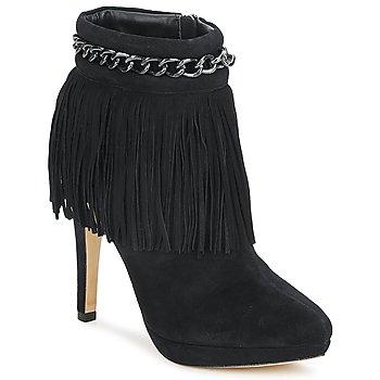 Schuhe Damen Low Boots Bourne SANDY Schwarz